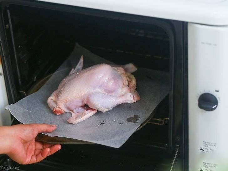آموزش طرز تهیه انواع مرغ بریان شکم پر (عکس + فیلم)