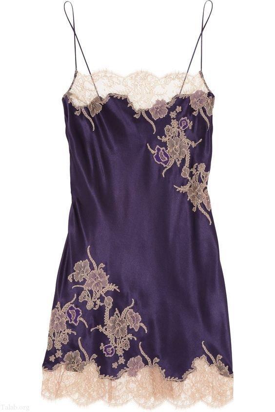انواع مدل لباس خواب زنانه طرح 2019 | لباس خواب عروس 1398