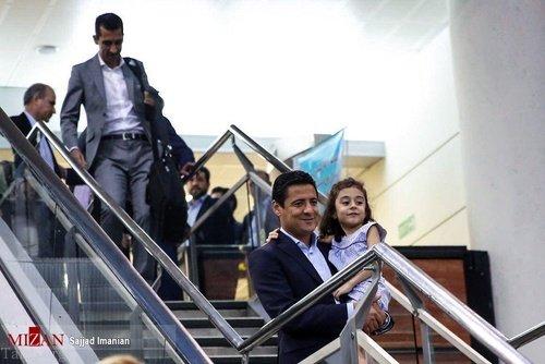 تصاویری از بازگشت تیم علیرضا فغانی از جام جهانی 2018