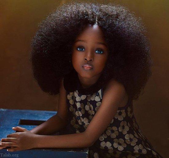 تصاویر زیباترین دختر سیاه پوست جهان در اینستاگرام