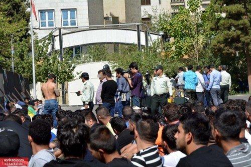 تصاویری از اراذل و اوباش و افراد شرور تهران
