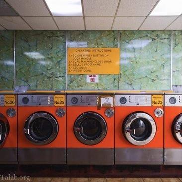 عکس هایی از لباسشویی های عمومی در انگلستان