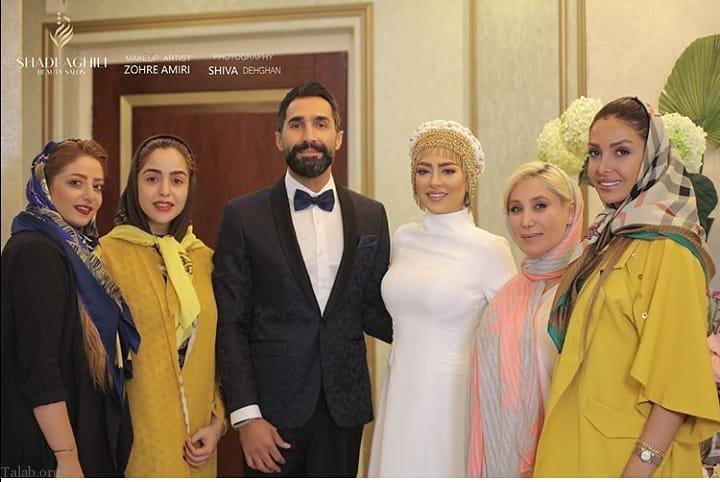 ازدواج هادی کاظمی و سمانه پاکدل دو بازیگر سینما و تلویزیون