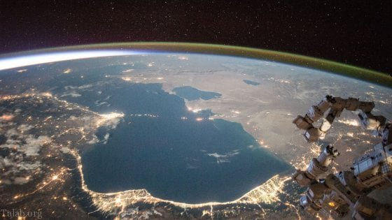 تصاویر زیبا از دریای خزر (نقشه دریای خزر)