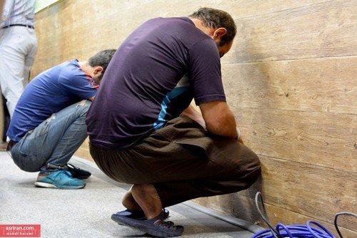 دستگیری سارقان مسلح شب گذشته خیابان دولت تهران (عکس)