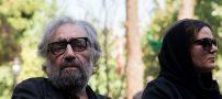 حضور هنرمندان مشهور در مراسم خاکسپاری عزت الله انتظامی