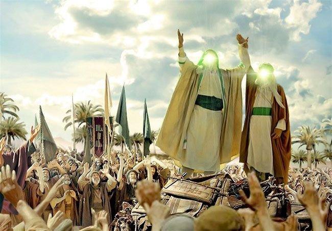 به مناسبت عید غدیر | متن کامل سخنان پیامبر در غدیر خم   ماجرای کامل عید غدیر خم  داستان عید غدیر  عید غدیر خم چگونه بود