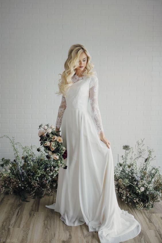 مدل لباس عروس جدید و شیک 2019 + راهنمای خرید لباس عروس