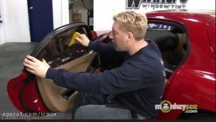 آموزش دودی کردن شیشه خودرو با برچسب (فیلم)