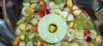 4 مدل دسر میوه ای خوشمزه   طرز تهیه دسر خربزه