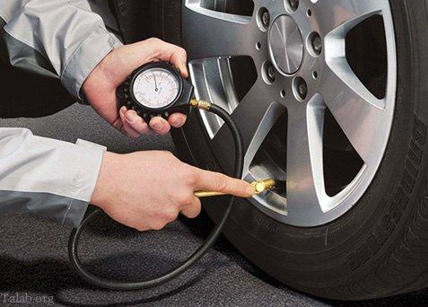میزان فشار باد انواع لاستیک خودرو + بهترین زمان برای تنظیم باد لاستیک خودرو