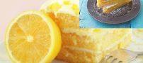 طرز تهیه شیرینی لیمویی و شیرینی نارنگی پاییزی