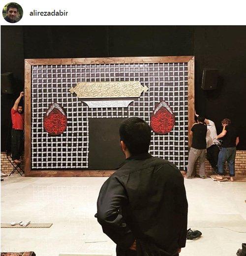 حال و هوای محرم در بین هنرمندان و بازیگران ایرانی (عکس)