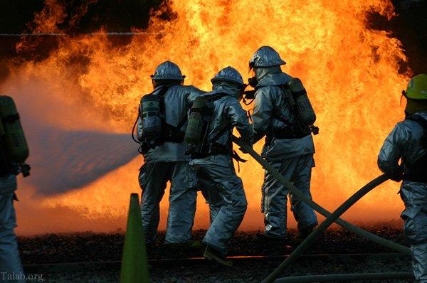انشای آتش نشانی | انشا درباره آتش نشان
