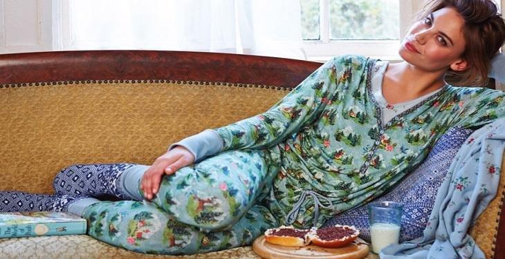 چگونه شیک لباس پوشیدن در منزل ویژه خانم ها (تیپ زنانه در خانه)