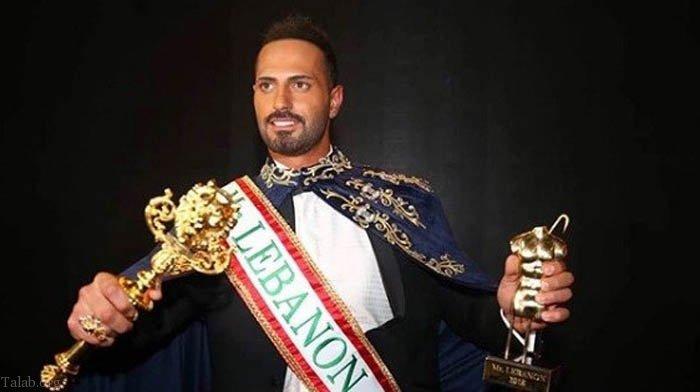 انتخاب زیباترین پسر لبنانی با لقب پادشاه زیبایی در سال 2018