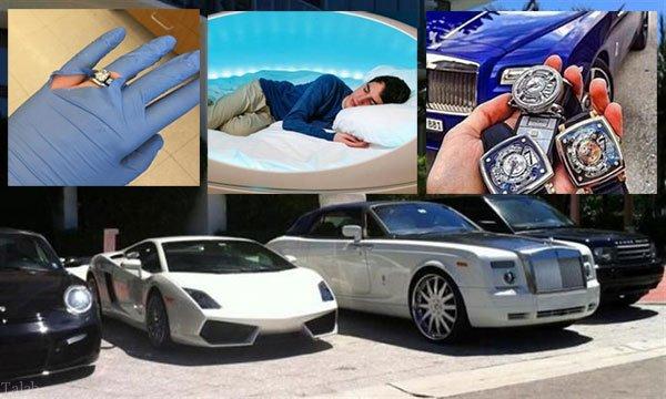 دغدغه های عجیب در زندگی ثروتمندان جهان (عکس)