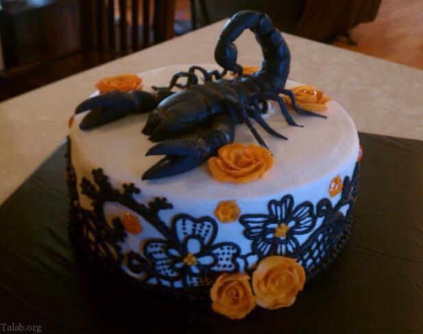 عکس کیک تولد آبان ماهی