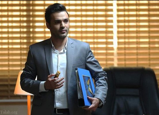 سامان صفاری بازیگر نقش امیر در سریال دلدادگان (عکس)