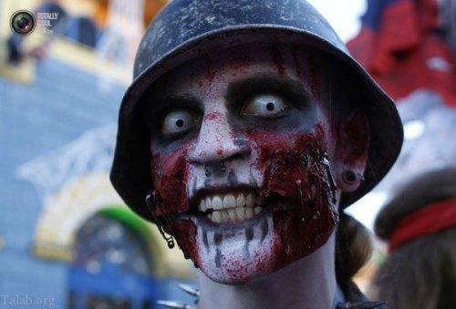 به مناسبت 31 اکتبر جشن هالووین | عکس های دیدنی از گریم جشن هالووین