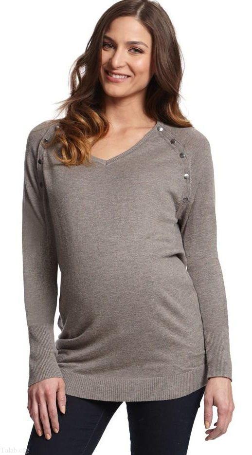انواع مدل لباس مجلسی بارداری 2021  + راهنمای انتخاب لباس بارداری