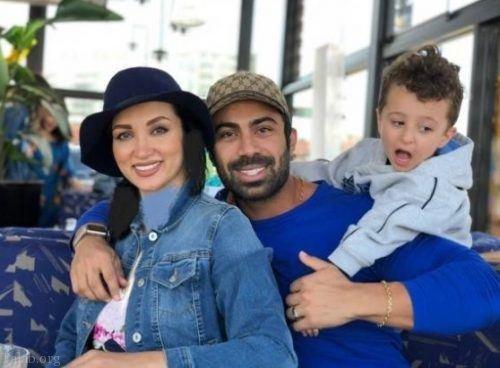 امیر مقاره در منزل روناک یونسی و همسرش در کانادا (عکس)