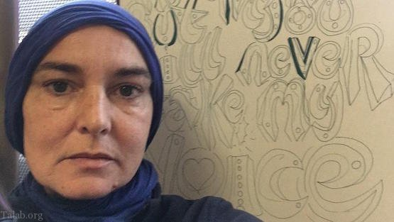 خواننده زن مشهور شینید اوکانر مسلمان شد (عکس)