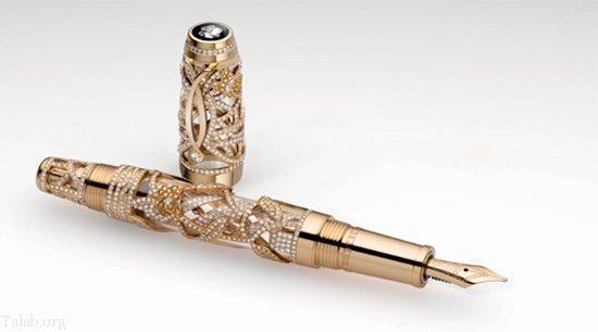 آشنایی با گرانترین خودنویس و قلم های موجود در جهان (عکس)