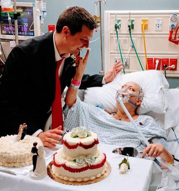 مرگ غم انگیز تازه عروس در بیمارستان در کنار داماد (عکس)