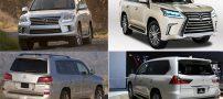لکسوس LX570 2013 گران ترین خودروی شاسی بلند ایران (مشخصات)
