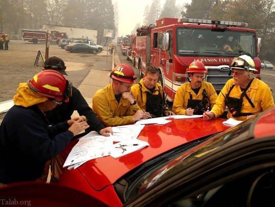 علت آتش سوزی کالیفرنیا چیست ؟+ تصاویر آتش سوزی کالیفرنیا