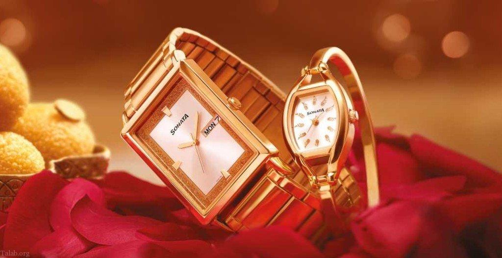 مدل ساعت عروس و داماد | ست ساعت مردانه و زنانه جدید