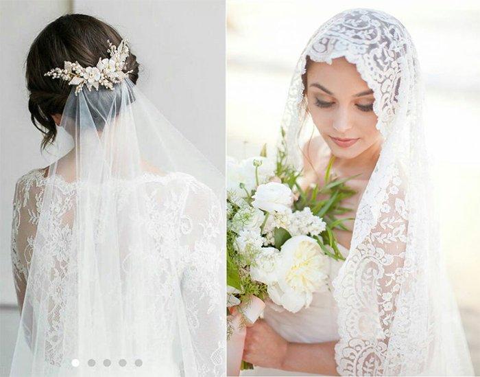 مدل تور سر عروس در طرح های جدید و شیک 2021