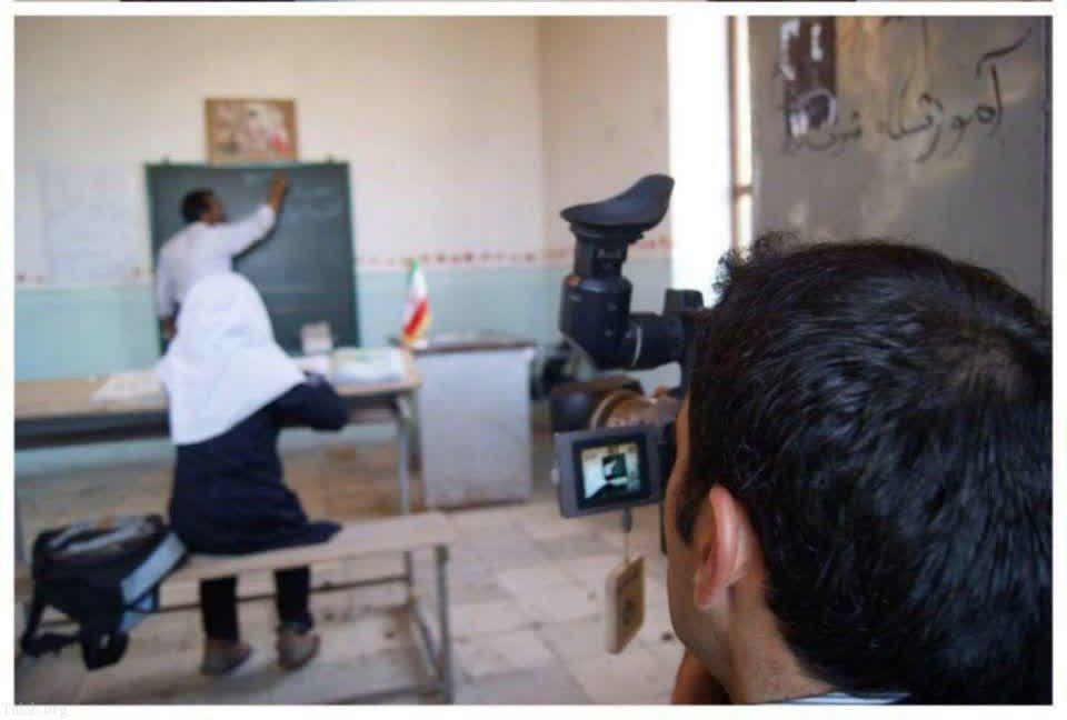 کوچکترین مدرسه دنیا در ایران با یک معلم و یک دانش آموز (عکس)