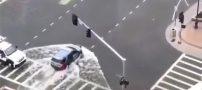 نکته بسیار جالب در سیل بُستون آمریکا (فیلم)