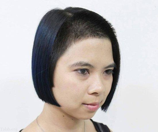 تصاویری از مدل موهای عجیب و غریب مردانه و زنانه 2020