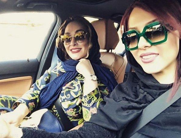 عکس های لیلا اوتادی و همسرش | عکس های جدید لیلا اوتادی به همراه متن