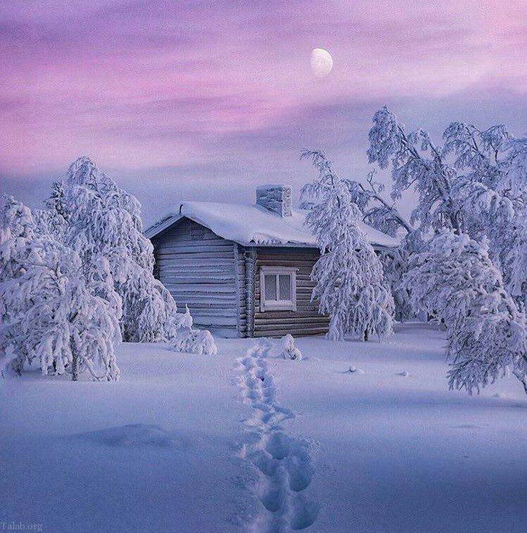 دلنوشته های عاشقانه و زیبای زمستان (متن زیبای زمستانی)