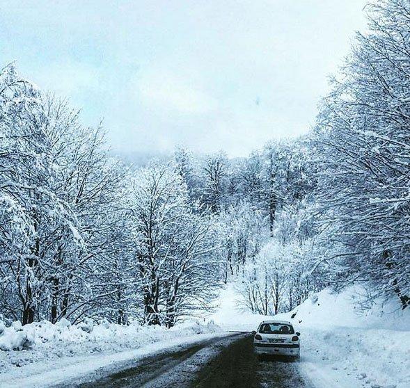 اس ام اس های عاشقانه روزهای برفی | متن روزهای برفی