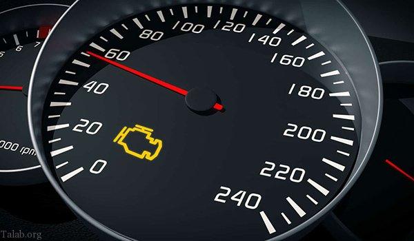 علت روشن شدن چراغ چک خودرو | روشن شدن چراغ خطا ماشین