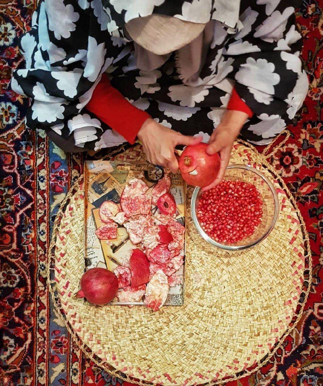 عکس و مطالب جالب و دیدنی مرتبط با شب یلدا (هندونه شب یلدا)