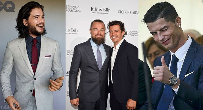 مدل کت و شلوار مردانه افراد مشهور دنیا در سال 2021