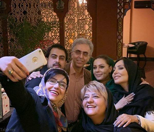 حضور هنرمندان در جشن تولد 44 سالگی معصومه کریمی (عکس)