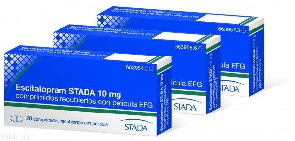 آشنایی با اس سیتالوپرام - Escitalopram   درمان اضطراب و افسردگی