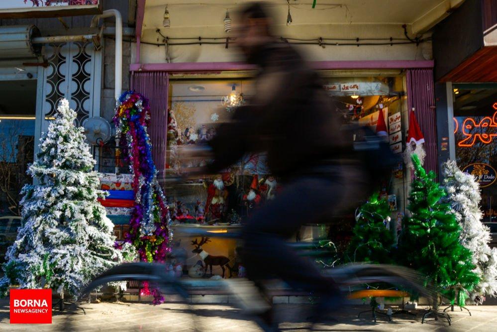 تصاویری از جشن کریسمس 2019 در محله جلفای اصفهان
