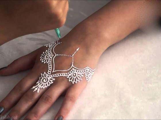 طرح های زیبا از حنا روی بدن | خواص حنا برای پوست + ماسک حنا