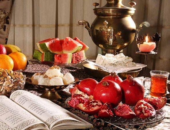 خواص خوراکی های شب یلدا (هندوانه تا اجیل)