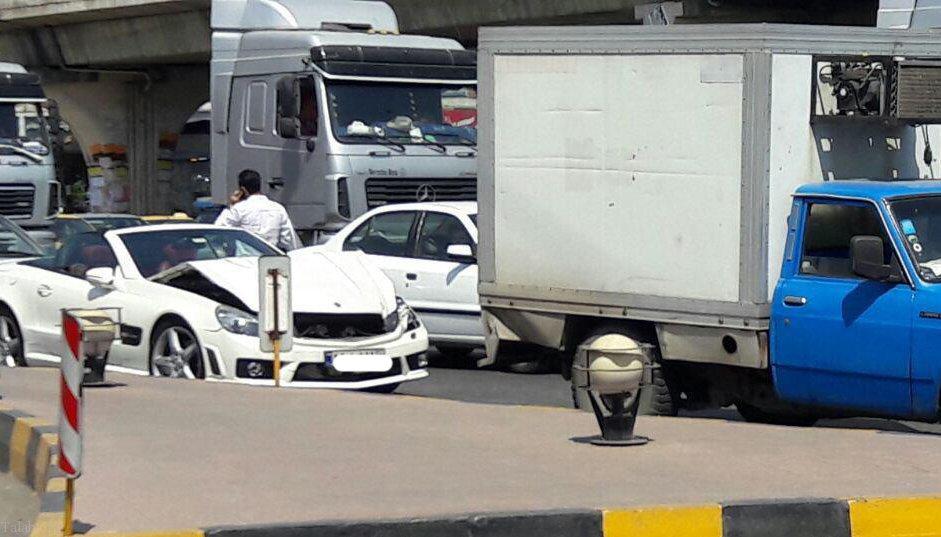 قانون جدید بیمه شخص ثالث در تصادف با خودروهای لوکس