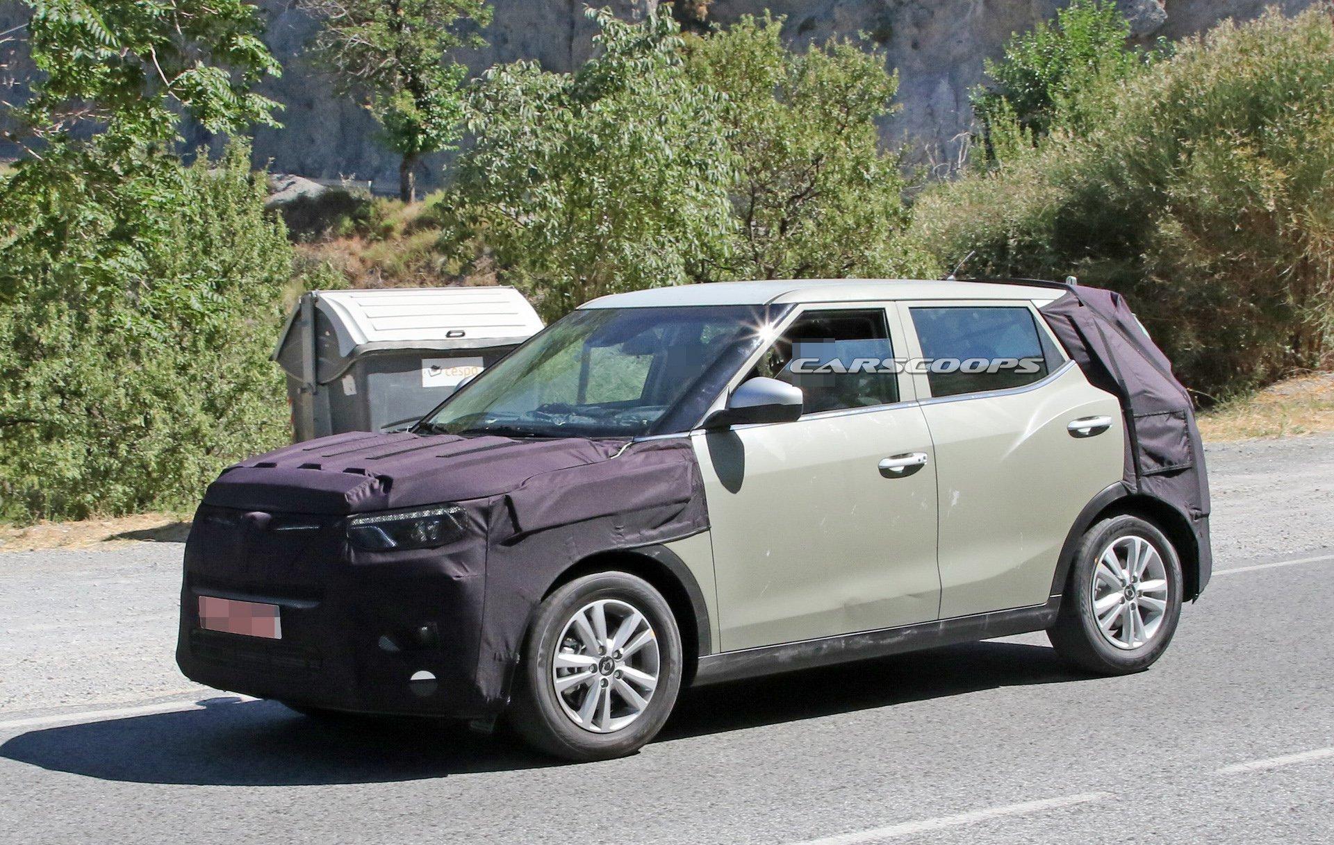 خودرو تیوولی 2019 با تیپ جدید به بازار می آید (عکس)