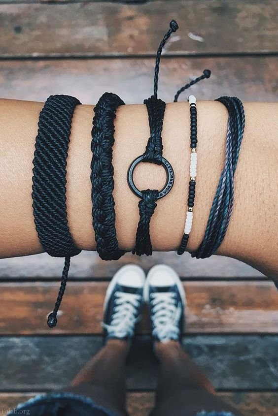 مدل دستبند های زنانه و دخترانه 2020 | مدل های شیک دستبند دست ساز 2020